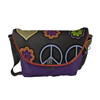 PEACE & LOVE COURIER BAG