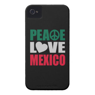 Peace Love Mexico iPhone 4 Cover