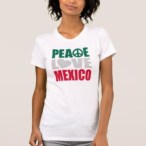 Peace Love Mexico Tank