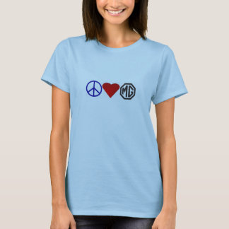 Peace-Love-MG T-Shirt