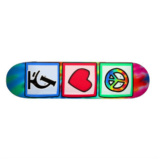 Peace, Love, Microscopes Skateboards