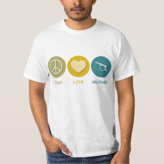 Peace Love Militaria Tshirt
