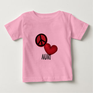 Peace Love Mimi Shirt