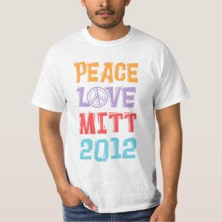PEACE LOVE MITT 2012 T-Shirt
