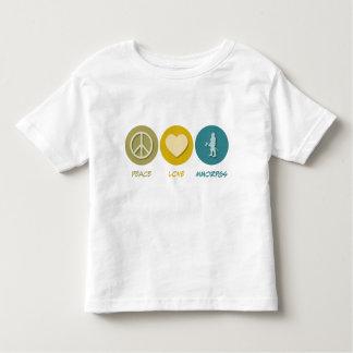 Peace Love MMORPGs Toddler T-shirt