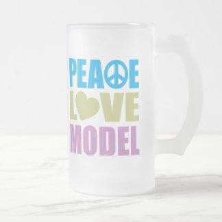 Peace Love Model Coffee Mugs