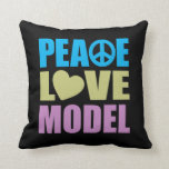 Peace Love Model Pillow