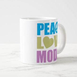 Peace Love Model Extra Large Mug