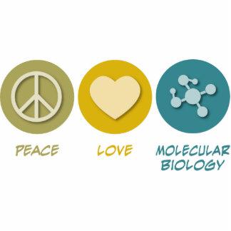 Peace Love Molecular Biology Acrylic Cut Outs
