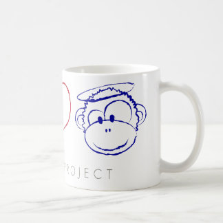 Peace, Love, Monkeys Mugs