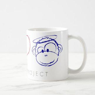 Peace, Love, Monkeys Mugs