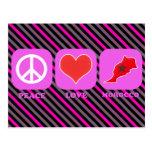 Peace Love Morocco Postcard