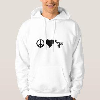 Peace Love Motocross Hoodie