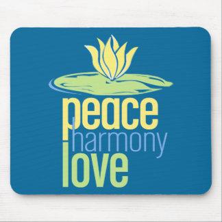 Peace Love Mousepad
