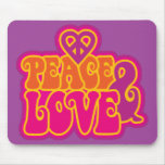 Peace & Love Mousepad
