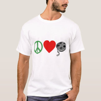 Peace Love Movies T-Shirt