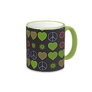 PEACE & LOVE MUG