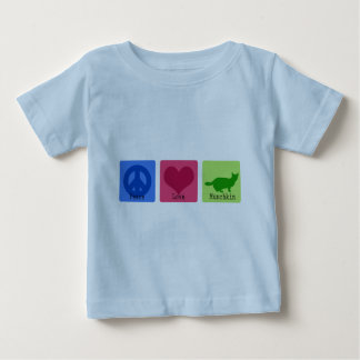Peace Love Munchkin Baby T-Shirt