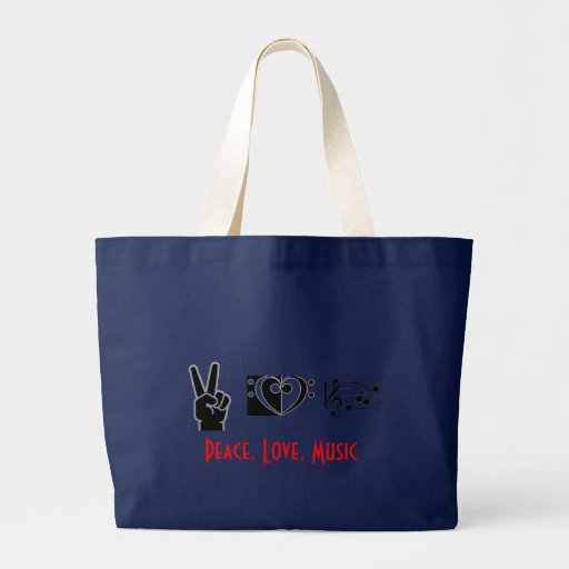 Peace, Love, Music Bag