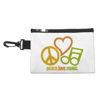 Peace-Love-Music custom accessory bag