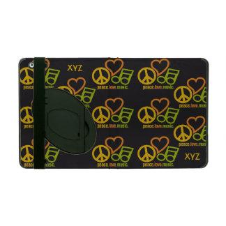 Peace Love Music custom cases iPad Cases