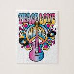 Peace Love Music Jigsaw Puzzles