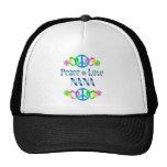 Peace Love Nana Hat