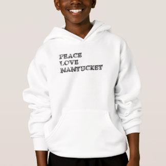 Peace Love Nantucket Hoodie