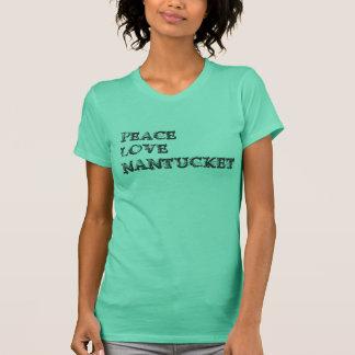 Peace Love Nantucket (light shirt) T-Shirt