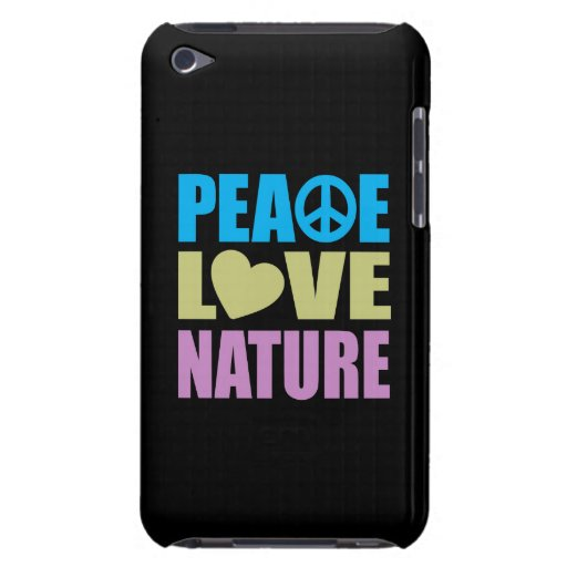 Peace Love Nature iPod Touch Case