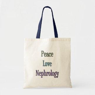 Peace, Love, Nephrology Bag