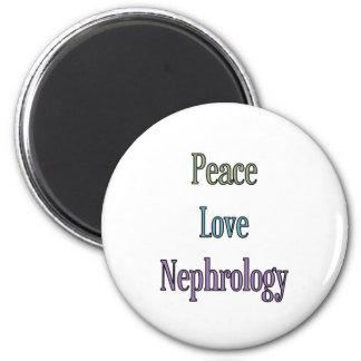 Peace, Love, Nephrology Magnets