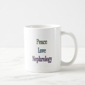 Peace, Love, Nephrology Coffee Mug