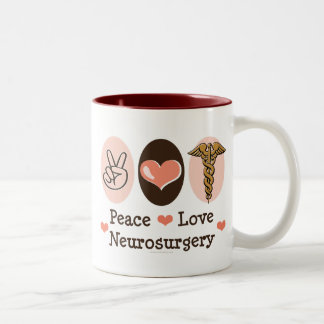 Peace Love Neurosurgery Mug