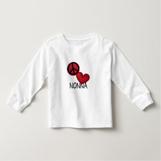 Peace Love Nonna Toddler T-shirt