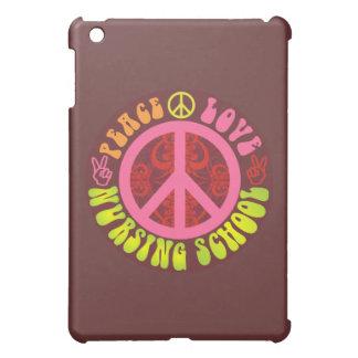 Peace, Love, Nursing School iPad Mini Case