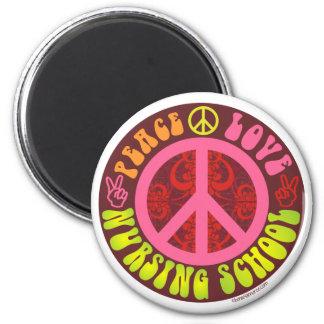 Peace, Love, Nursing School Magnet