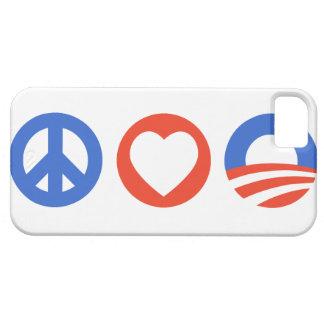 Peace Love Obama iPhone 5 Covers