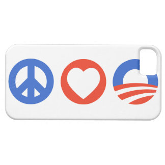 Peace Love Obama iPhone 5 Covers