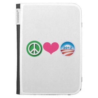 Peace, Love, Obama Case For Kindle