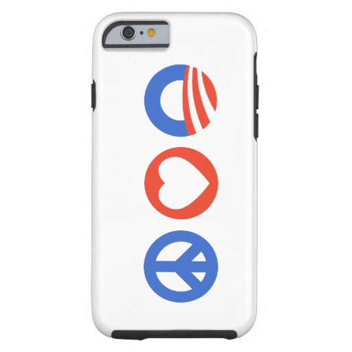 Peace Love Obama iPhone 6 Case
