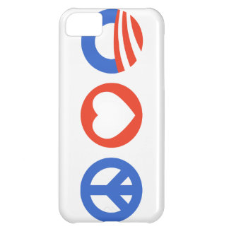 Peace Love Obama Case For iPhone 5C
