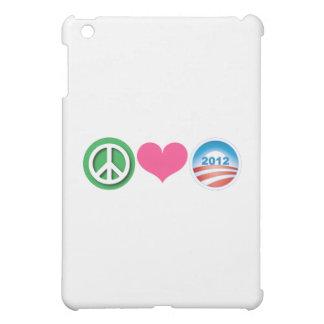 Peace, Love, Obama iPad Mini Case