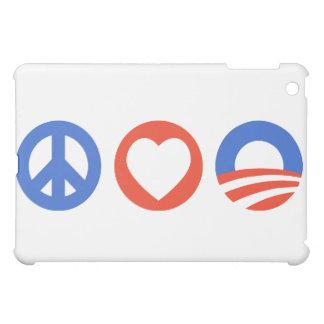 Peace Love Obama Case For The iPad Mini