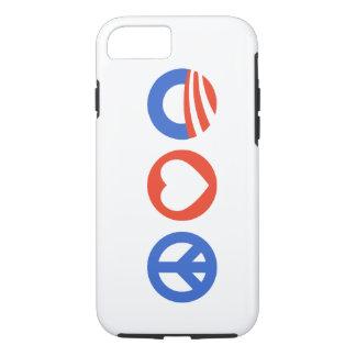 Peace Love Obama iPhone 8/7 Case