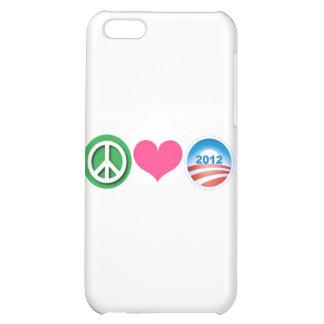 Peace, Love, Obama iPhone 5C Covers