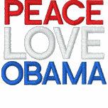 PEACE, LOVE, OBAMA JACKETS