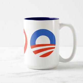 Peace Love Obama Coffee Mug