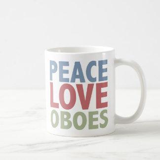 Peace Love Oboes Mug