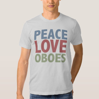 Peace Love Oboes T-Shirt